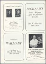 1990 Stroud High School Yearbook Page 124 & 125