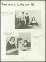1950 Pius Xi High School Yearbook Page 18 & 19
