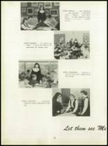 1950 Pius Xi High School Yearbook Page 20 & 21