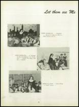 1950 Pius Xi High School Yearbook Page 22 & 23