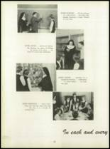 1950 Pius Xi High School Yearbook Page 24 & 25