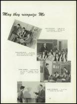 1950 Pius Xi High School Yearbook Page 26 & 27
