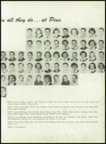 1950 Pius Xi High School Yearbook Page 34 & 35