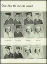 1950 Pius Xi High School Yearbook Page 54 & 55