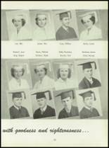 1950 Pius Xi High School Yearbook Page 56 & 57
