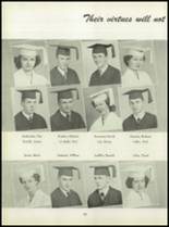 1950 Pius Xi High School Yearbook Page 58 & 59