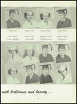 1950 Pius Xi High School Yearbook Page 60 & 61