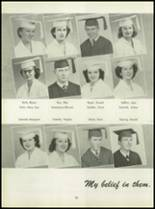 1950 Pius Xi High School Yearbook Page 64 & 65