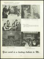 1950 Pius Xi High School Yearbook Page 74 & 75