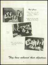 1950 Pius Xi High School Yearbook Page 78 & 79