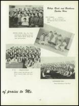 1950 Pius Xi High School Yearbook Page 82 & 83