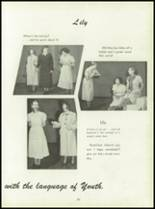 1950 Pius Xi High School Yearbook Page 86 & 87