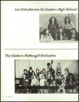 1975 Eastern High School Yearbook Page 164 & 165