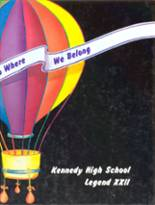 1987 Yearbook Kennedy High School