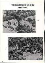 1965 Haverford School Yearbook Page 70 & 71