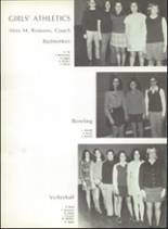 1971 Montville High School Yearbook Page 142 & 143