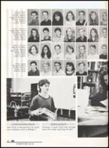 1992 Clyde High School Yearbook Page 54 & 55