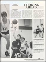 1992 Clyde High School Yearbook Page 142 & 143