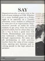 1992 Clyde High School Yearbook Page 156 & 157