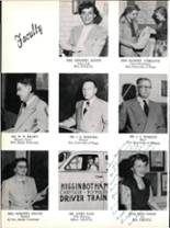 1953 Robert E. Lee High School Yearbook Page 18 & 19