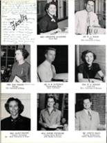 1953 Robert E. Lee High School Yearbook Page 22 & 23