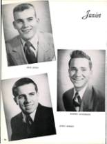 1953 Robert E. Lee High School Yearbook Page 32 & 33