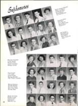 1953 Robert E. Lee High School Yearbook Page 44 & 45