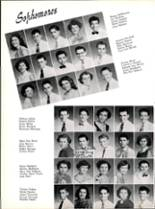1953 Robert E. Lee High School Yearbook Page 50 & 51