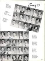 1953 Robert E. Lee High School Yearbook Page 52 & 53
