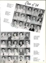 1953 Robert E. Lee High School Yearbook Page 58 & 59