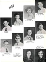 1953 Robert E. Lee High School Yearbook Page 78 & 79