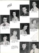 1953 Robert E. Lee High School Yearbook Page 84 & 85
