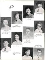 1953 Robert E. Lee High School Yearbook Page 92 & 93