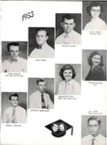 1953 Robert E. Lee High School Yearbook Page 94 & 95