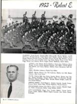 1953 Robert E. Lee High School Yearbook Page 98 & 99