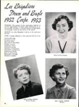 1953 Robert E. Lee High School Yearbook Page 102 & 103