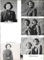 1953 Robert E. Lee High School Yearbook Page 158 & 159