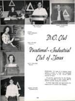 1953 Robert E. Lee High School Yearbook Page 160 & 161