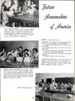 1953 Robert E. Lee High School Yearbook Page 164 & 165