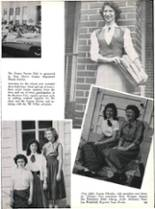 1953 Robert E. Lee High School Yearbook Page 166 & 167