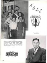 1953 Robert E. Lee High School Yearbook Page 186 & 187