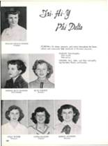 1953 Robert E. Lee High School Yearbook Page 190 & 191
