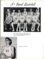 1953 Robert E. Lee High School Yearbook Page 206 & 207
