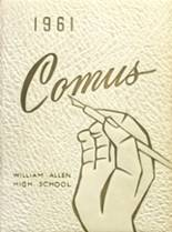 1961 Yearbook William Allen High School