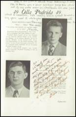 1949 Lawrenceville School Yearbook Page 92 & 93