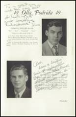 1949 Lawrenceville School Yearbook Page 98 & 99