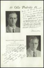 1949 Lawrenceville School Yearbook Page 110 & 111