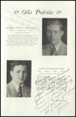 1949 Lawrenceville School Yearbook Page 116 & 117