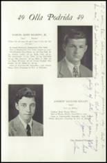 1949 Lawrenceville School Yearbook Page 120 & 121