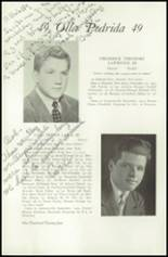 1949 Lawrenceville School Yearbook Page 126 & 127
